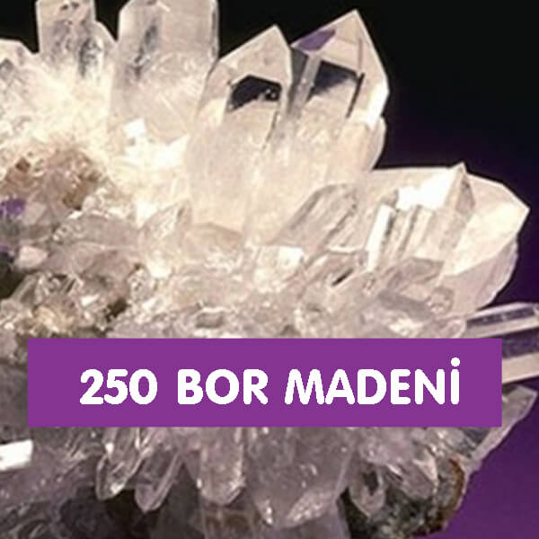 250 Bor Madeni
