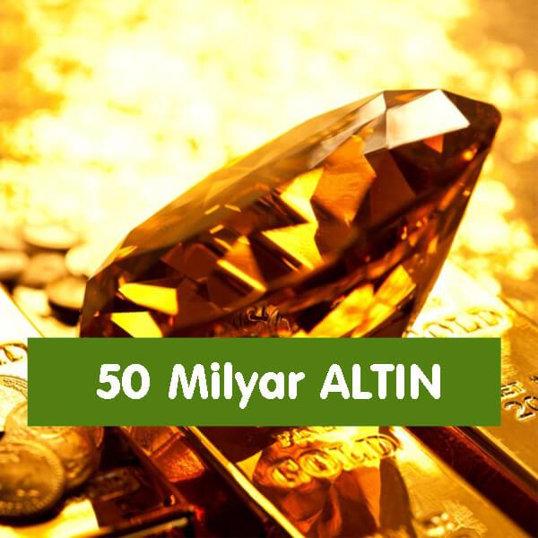 50 Milyar Altın